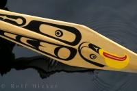 Native Canoe Paddle