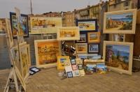 An artists collection of inspirational paintings of the St Tropez area in the Provence, France.
