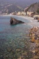 This beautiful beach in Monterosso, Italy is just one of the many beaches along the Italian coastline.