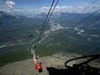 An exciting trip to do during a visit to the Jasper area is to ride the Tramway to the top of Whistler's Mountain.