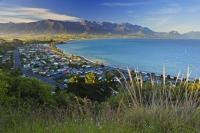 The seaside community of Kaikoura is a popular vacation destination for visitors interested in whale watching and great seafood restaurants.