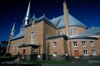 Church of the City of Kamouraska in Quebec, Canada