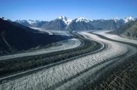 The best way to get an aerial view of the Kaskawulsh Glacier in the Yukon Territory is by Helicopter.