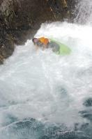 The reason a kayaker needs a hard hat especially when running a waterfall!