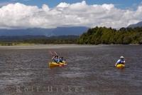 Kayaking Okarito Lagoon New Zealand