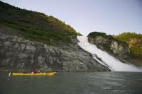 Kayaking Pictures near the Mendenhall Glacier
