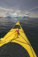 Kayaking adventures around icebergs, there is hardly any better place to do some kayaking around icebergs than the coast of Newfoundland.