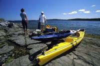 One of the best ways to see the coast of Newfoundland is by taking one of the many Kayaking tours offered.