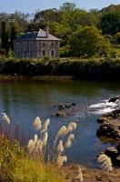 The historic Stone Store is situated in the town of KeriKeri on the banks of the Kerikeri River in Northland, North Island, New Zealand.