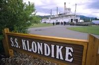 The S.S. Klondike is a riverboat which has been established as a National Historic Site in Whitehorse, Yukon Territory, Canada.