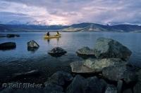 There's nothing quite like a gentle canoeing expedition on the waters of Kluane Lake in the Yukon Territory, Canada.