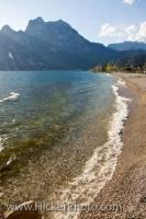 Lake Garda Beach Scenery Torbole Italy
