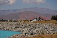 Summer brings many tourists to Lake Pukaki on the South Island of New Zealand and many of them tour through the information centre in search of various activities around the region.