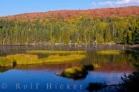 Once fall arrives in Parc national du Mont Tremblant, in the Laurentides mountain range, the already beautiful scenery becomes more intense with wild contrasting colors fringing the many lakes and rivers of the park.