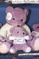 Great gift ideas for christmas or birthdays are these lavender teddy bears.