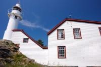 Lobster Cove Lighthouse Building Newfoundland