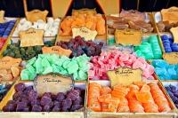 Market Stall Candies Cordoba Andalusia Spain