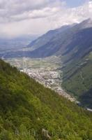 Martigny City Switzerland