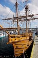 At the Matthew Legacy Site in Bonavista in Newfoundland Labrador, Canada you will find a modern day replica of the historic ship known as the Matthew.
