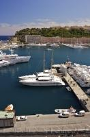 Situated on the fringes of the Mediterranean Sea, the Monte Carlo Marina in Monaco is a magnet for luxury yacht owners.