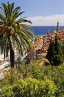 The city of Menton is an active seaside town situated along the French Riveria in the Provence, France.