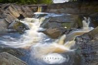 Mill Falls Waterfall Kejimkujik Nova Scotia