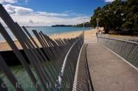 Mission Bay Waitemata Harbour Auckland City North Island New Zealand