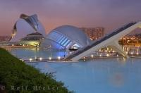 There's a real mix of ancient and modern architecture to be found in the city of Valencia, Spain.