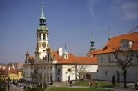 The Monastery Loreto and its church can be found near the Prague Castle in the gorgeous capital city of the Czech Republic. Tourists can come and visit the Monastery for a small fee or attend a service there.