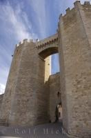 Medieval Castle Morella Village Spain