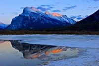 Mount Rundle 2nd Vermilion Lake Banff National Park