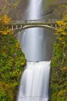 Multnomah Falls Waterfall Bridge
