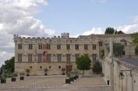 The Musee du Petit Palais once the home to cardinals and bishops in Avignon, Provence in France, Europe.