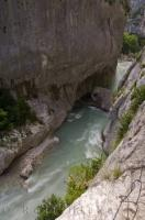 Narrow Gorge Alpes De Haute Provence