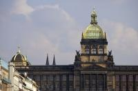 National Museum Rooftop Wenceslas Square Prague