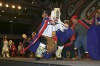 The Dances of the Alaskan Native Americans have been passed down through the years and tell Tales of the History of the Tribe,