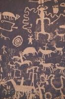 Historic Native American Paintings Petroglyphs
