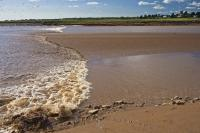Natural Phenomenon Tidal Bore Truro Nova Scotia