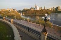 Views of both the Rideau Canal and Parliament Hill situated in the heart of Ottawa can be seen from the vantage Point of Nepean Point.