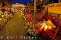 The magic of Christmas is alive as people decorate their homes throughout New Zealand.