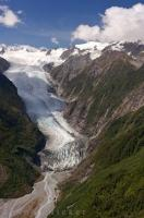The Southern Alps of New Zealand play host to a number of glaciers such Fox Glacier and Franz Josef Glacier in Westland National Park on the South Island.