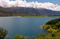 New Zealand Nature Mountains Lake Scenery