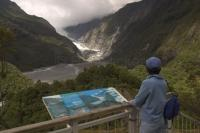 New Zealand Tourism Information found at the Franz Josef Glacier on New Zealands South Island