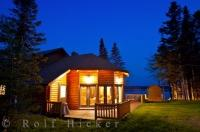 Elegant accommodations are available at the Tuckamore Lodge near Main Brook, Newfoundland where the serenity of the wilderness is your next door neighbour.