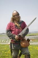 Stock photo of Historical Costumes at the Norstead Viking Site