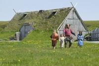 Family Hut Norstead Viking Site Picture