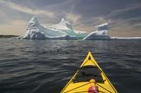 Adventure Holidays in Newfoudland could include kayaking with icebergs