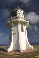 A popular tourist attraction is the Cape Reinga lighthouse situated on the northern tip of the New Zealand overlooking the Pacific Ocean and Tasman Sea.
