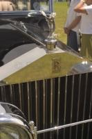 Rolls Royce on display at a classic collector Car Show