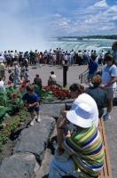 Tourists flock to Niagara Falls in Ontario, Canada for a vacation of lifetime to see the natural wonders of the world.